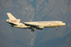 N522AX, McDonnell Douglas DC10-30 Omni Air International @ Aviano LIPA (LaKi-photography) Tags: flugzeug plane aircraft avion flughafen flugplatz airport aeroporto aeropuerto airfield airbase havalimanı самолет 航空機 аэропорт 空港 luftfahrt aviation aviación airline airliner jet verkehr verkehrsflugzeug mcdonnelldouglas dc10 omniair авиакомпания エアライン havayollari spotting canon italia italien italy aviano lipa