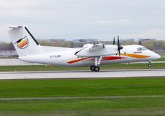 C-FLSX Air Creebec Dash8 (twomphotos) Tags: plane spotting yul cyul rwy24l rwy06r dash8 air creebec