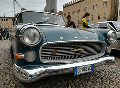 Opel Rekord (Giulio Pedrana - La Tenaglia Impazzita) Tags: opelfans opel vintagecars raduniautostoriche mantova