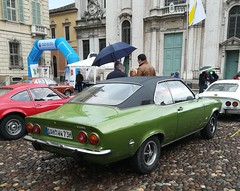 Opel Manta A (Giulio Pedrana - La Tenaglia Impazzita) Tags: opelfans opel vintagecars raduniautostoriche mantova