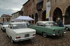 Opel Rekord - Opel Kadett A Coupé (Giulio Pedrana - La Tenaglia Impazzita) Tags: opelfans opel vintagecars raduniautostoriche mantova