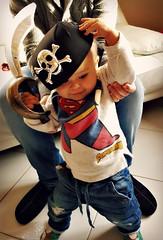 leonardo il pirata! (me, paolo and the seven wonders + two&little3) Tags: leo carnevale maschera festa compleanno 1anno picmonkey