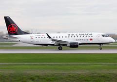 C-FEKJ Air Canada E175 (twomphotos) Tags: plane spotting yul cyul rwy06r air canada embraer e175 e170