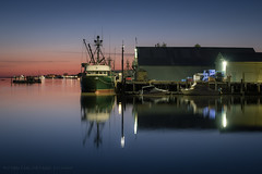In the still of the night (iPhilFlash) Tags: fraserriver stevestonchannel sunset water reflections outdoor dusk vancouver britishcolumbia boat wharf sky canada fishingboat richmond outdoors steveston