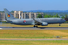 Throwback Livery (planephotoman) Tags: 7315pdx boeing 737 738 737890 n569as starliner75 75thanniversary alaskaairlines airline airliner pdxaircraft portlandinternationalairport pdx kpdx