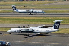 Second Look Livery (planephotoman) Tags: bombardier dhc8400 dhc8402 q400 n447qx n439qx horizonair alaskaairlines airline airliner pdxaircraft portlandinternationalairport pdx kpdx