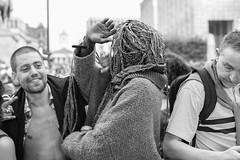 No picture (BenoitGEETS-Photography) Tags: pride bruxelles brussels d610 nikon tamron 2470 blackandwhite noiretblanc bw bn