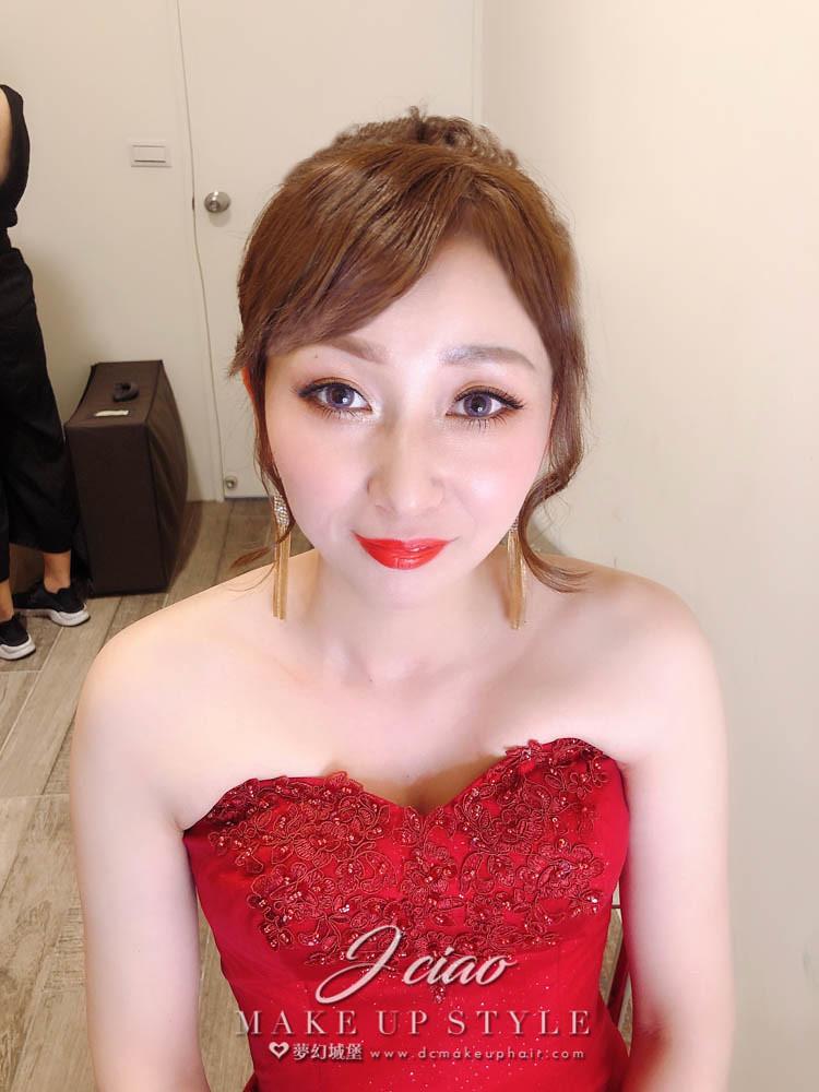 【新秘婕喬】bride傅劍 結婚造型 / 台中頂園宴席