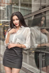 Avril (Francis.Ho) Tags: avril xt2 fujifilm girl woman female femme lady portrait people beauty pretty lips eyes hair face elegant glamour young sensuality fashion naturallight chinese fashionable attractive stylish daylight sunlight outdoor model reflection