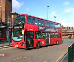 Arriva London - DW483 - LJ61CCO (Waterford_Man) Tags: lj61cco dw483 wrightbus arrivalondon