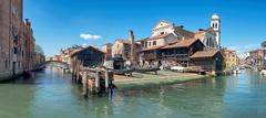 Venice -  Gondola boatyard (pe_ha45) Tags: boatyard gondola gondel dorsoduro venice venezia venedig venise werft