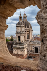 Particolare del Duomo di Catania, visto dalla Badia S.Agata (CT) (AndreaCT78) Tags: catania duomo particolare flickrsicilia