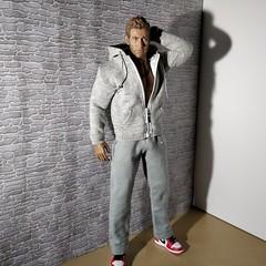 Jake (Camler) Tags: tbleauge phicen m33 gay onesixthscale sneakers sportswear