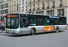 MAN Lion's City standard, fleet # 9871, RATP/Régie Autonome des Transports Parisiens, additionnal Île deFrance Mobilités markings, downtown Paris, close by St Lazare railways station, 2019-05-05. (alaindurandpatrick) Tags: man manlionscity buses masstransit masstransitcompanies ratp régieautonomedestransportsparisiens îledefrancemobilités masstransitauthorities paris 75 seine greaterparisarea îledefrance france