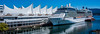 2019 - Vancouver - Canada Place Cruise Ship Dock (Ted's photos - For Me & You) Tags: 2019 bc britishcolumbia canada cropped nikon nikond750 nikonfx tedmcgrath tedsphotos vancouver vancouverbc vancouvercity vignetting celebritysolstice cruiseship ship cruiser canadaplace sails canadaplacesails port portfvancouver burrardinlet bluesky blue reflection waterreflection coalharbour coalharbourvancouver vancouvercoalharbour widescreen wideangle