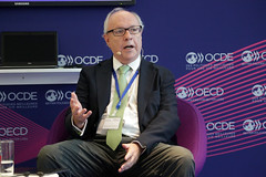 2019 OECD Forum: Talk Together - Innovating in Health (Organisation for Economic Co-operation and Develop) Tags: oecd ocde forum 2019 paris talktogether cristobalthompson executivedirector amiifwithfrancescacolombo head healthdivision directorateforemployment labourandsocialaffairs france amiif with francesca colombo