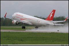 """AIRBUS A320 214 """"Air Arabia"""" CN-NMJ 6896 Entzheim avril 2019 (paulschaller67) Tags: airbus a320 214 airarabia cnnmj 6896 entzheim avril 2019"""