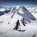 Skifahren in der Aletsch Arena