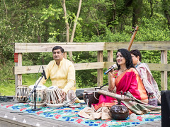 Sitar Concert featuring Alif Laila at Meadowside Nature Center May 2019. (Montgomery Parks, MNCPPC) Tags: aliflaila center children concert families india indianclassicalmusic maryland md meadowside mncppc montgomerycounty music nature outdoors park performance rockville sitar tabla tampura