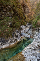 Blue waters in the wild Val d'Era canyon (supersky77) Tags: era valdera mandello lombardia lombardy lombardei lombardie alps alpi alpes alpen grigne canyon stream waterfall