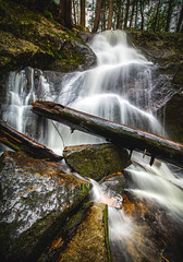 Rainbow Falls (Robert Clifford) Tags: nh nhphotographer newengland newhampshire plymouth rainbowfalls robcliffordphotography nature spring water waterfall