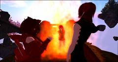 A Trip Down Memory Lane (Cynthargis) Tags: sl secondlife flamehaze pyromancy enlai calysta gaming fun art roleplay