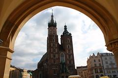 Trompe-l'œil (L'eccezione) Tags: arte art architettura architecture cielo sky cracovia cracow krakow polonia poland chiesa church