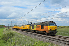 20190520 IMG_0678 67027 - 67023 1Q18 Hougham (Bill Atkinson2) Tags: colas rail class 67s skips 1q18 test train ecml hougham mentor