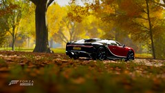 Old - skool, new's cool. (edwardrogers128) Tags: forzahorizon motorsport racing simulation games cars engines buggati chiron