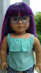 (dollpeople) Tags: american girl doll jess goty 2006 custom