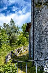 A Route Up (joseph.yarbrough) Tags: aquino italia italy landulf monteasprano rivermelfa roccasecca roma rome stthomasaquinas valledicomino castle chiesa church countofaquino fortification tileroof