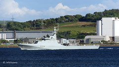 HMS Trent, Great Cumbrae (Eddie the Eagle-eye) Tags: ships boats marine vessel navy clyde cumbrae hunterston islands millport