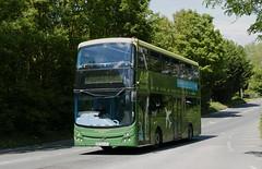 BF62UXU Bath Bus Co A507 (neiljennings51) Tags: bristol airport bus service a4 bath company volvo b9tl mcv decker