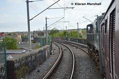 074 departs Connolly, 11/5/19 (hurricanemk1c) Tags: railways railway train trains irish rail irishrail iarnród éireann iarnródéireann 2019 rpsi railwaypreservationsocietyofireland generalmotors gm emd 071 waterfordandlimerickrailtour 074 0830connollym3parkway dublin