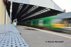 29003 departs Connolly, 11/5/19 (hurricanemk1c) Tags: railways railway train trains irish rail irishrail iarnród éireann iarnródéireann 2019 class29000 caf commuter 29003 0817connollymaynooth dublin connolly