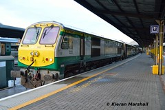 222 at Heuston, 10/5/19 (hurricanemk1c) Tags: railways railway train trains irish rail irishrail iarnród éireann iarnródéireann dublin heuston 2019 generalmotors gm emd 201 222 2100heustoncork