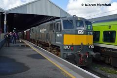 074 at Connolly, 10/5/19 (hurricanemk1c) Tags: railways railway train trains irish rail irishrail iarnród éireann iarnródéireann 2019 rpsi railwaypreservationsocietyofireland generalmotors gm emd 071 knocknarearailtour 074 1030connollysligo dublin connolly