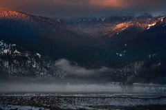 Sunrise (shishirmishra1) Tags: travel transportation travelling beautiful mountains sunset sky sunrise sun scenery sceneic view vacation valley visit morning yellowstone park