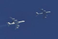 Boeing E-3A Sentry AWACS & KC-135R Stratotanker (fraklo) Tags: boeing kc135r stratotanker esso75 e3a awacs sentry air airforce aviation aircraft refueling kim range niedersachsen germany military force flugzeug deutschland exercise jet nato usaf geilenkirchen ang hawaii