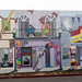 Hayward CA Streetscape Mural - Look fo rsix supersized objects