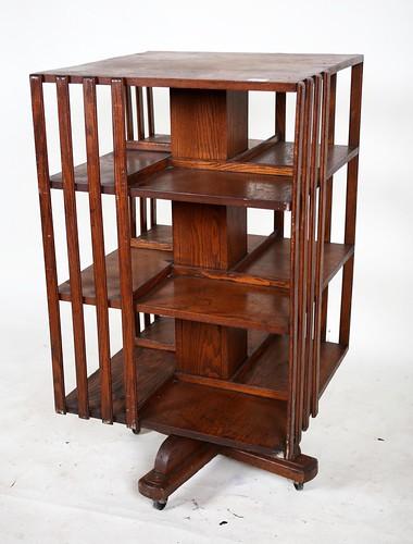 Revolving Bookcase ($291.20)