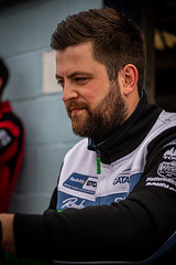 Dan Rowbottom Cataclean Racing with Ciceley Motorsport Mercedes Benz A Classduring pre race autographs (jdl1963) Tags: dan rowbottom cataclean racing with ciceley motorsport mercedes benz a class british touring cars btcc motor sport thruxton andover hampshire uk