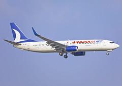 TC-SBJ (QC PHOTOGRAPHY) Tags: antalya airport turkey anadolu jet b737800wl tcsbj