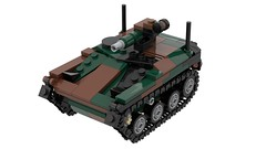 Wiesel 1 ATM HOT kit and instructions (Brick Defense) Tags: legomilitary lego ww2 german bomber military moc