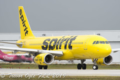 DSC_4110Pwm (T.O. Images) Tags: spirit airlines airbus a320 fll for lauderdale