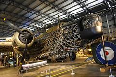 Brooklands (Sean Sweeney, UK) Tags: brooklands museum surrey uk weybridge nikon d810 24120 dslr england vickers wellington bomber airframe air frame loch ness 290 mk1a raf royal force airforce