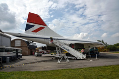 Brooklands (Sean Sweeney, UK) Tags: brooklands museum surrey uk weybridge nikon d810 24120 dslr concorde british airways ba britishairways gbbdg bbgd red white blue england