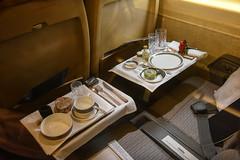 Brooklands (Sean Sweeney, UK) Tags: brooklands museum surrey uk weybridge nikon d810 24120 dslr concorde british airways ba britishairways gbbdg bbgd seat cabin england inflight meal