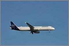 Lufthansa D-AIRY. (PS_Bus_Driver) Tags: lufthansa dairy airbusa321 egcc manchesterairport finalapproach