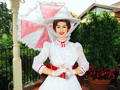 Mary Poppins (meeko_) Tags: mary poppins marypoppins characters disneycharacters libertysquaregazebo libertysquare magic kingdom magickingdom themepark walt disney world waltdisneyworld florida